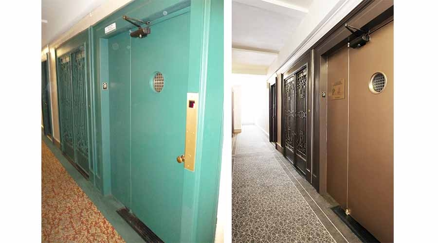 Hallway Design - The Barrington - Upper West Side