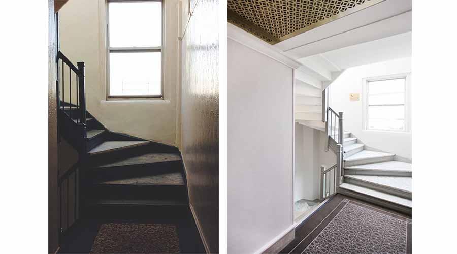 Stairwell Design - The Barrington - Upper West Side, New York