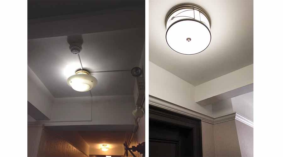 Apartment Corridor Design - The Barrington - Upper West Side, New York