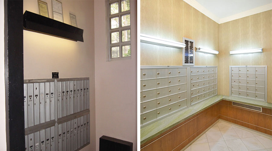 Mailroom Design - 342 East 67th Street