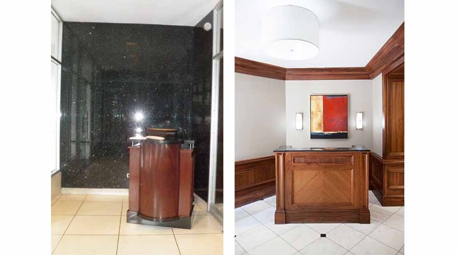 Apartment Building Lobby - Reception Area - Upper East Side Apartments - 123 East 75th Street, New York