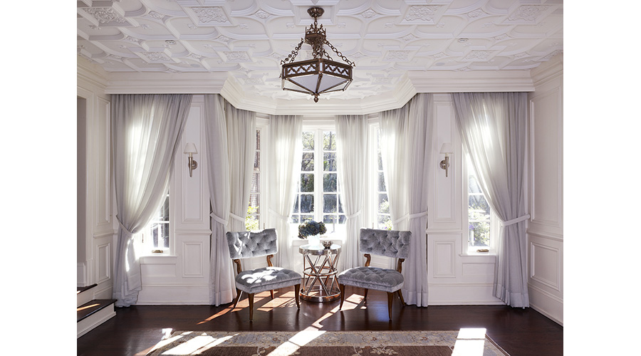 Loggia & Bay Window Design - Westchester, New York