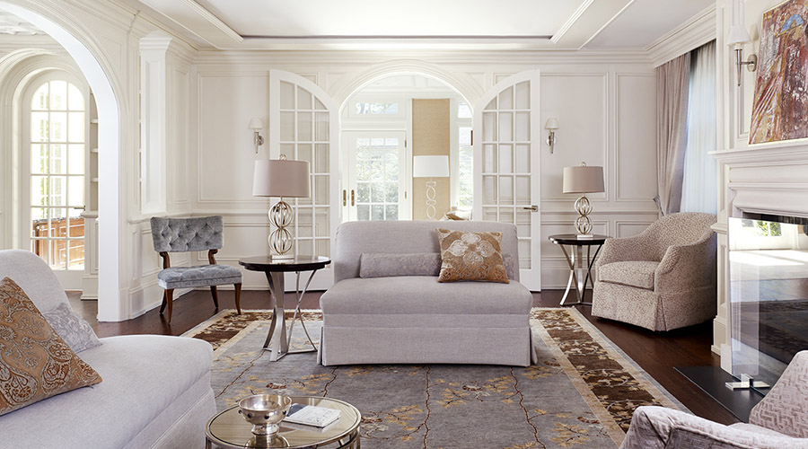 Living Room Design - Westchester