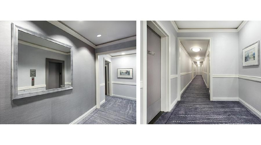 Hallway-Design—The-Endicott—New-York,-New-York