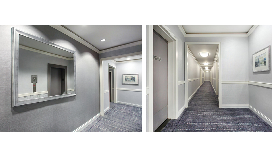 Hallway-Design—The-Endicott—New-York,-New-York