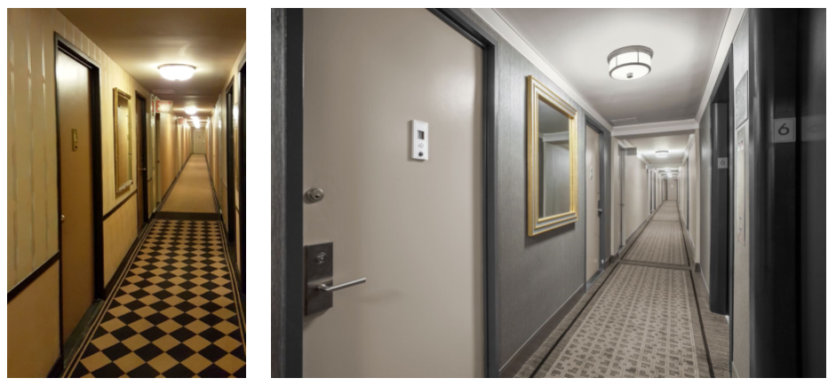 Upper west side Hallway designed by Sygrove