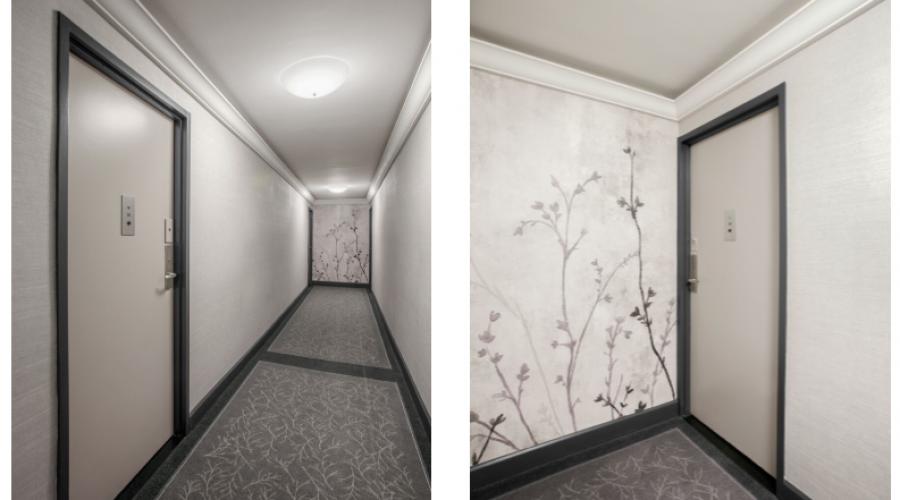 New York City Hallway design by Sygrove