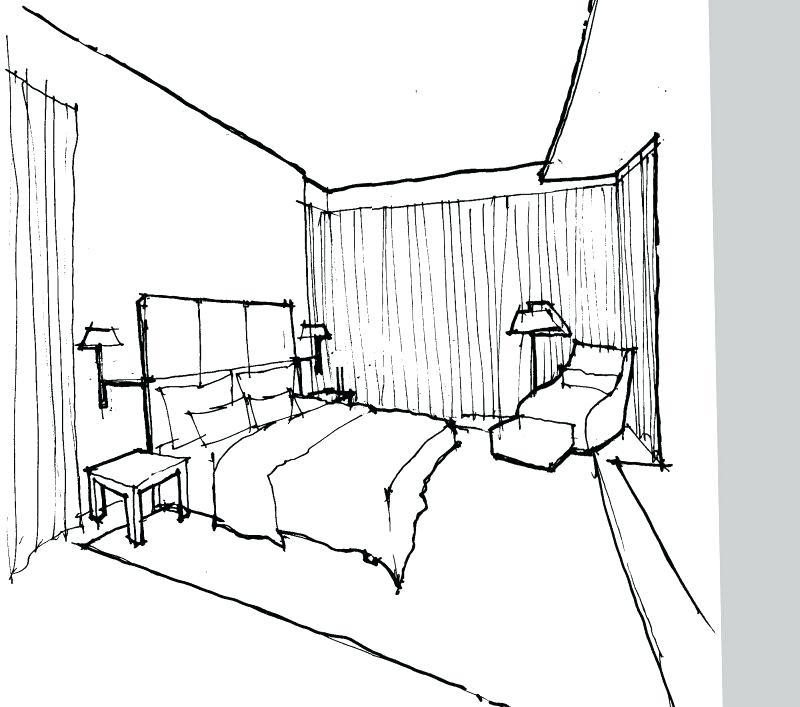 interior design sketch, interior design terms, sygrove