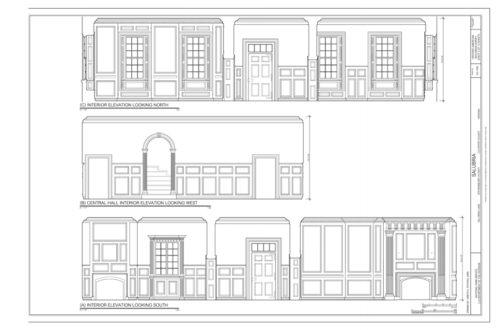interior design terms-elevation